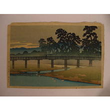 Kawase Hasui: Bridge - Japanese Art Open Database