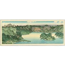 川瀬巴水: Daisensui Pond - Japanese Art Open Database