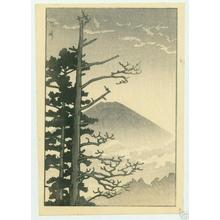 Kawase Hasui: Fuji and pine trees - Japanese Art Open Database