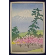 川瀬巴水: Fuji - yotsugiri - Japanese Art Open Database