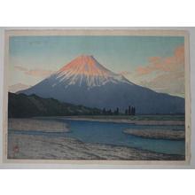 Kawase Hasui: Fujikawa — 富士川 - Japanese Art Open Database