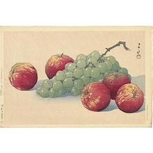 Kawase Hasui: Grapes and apples — Budo to ringo - Japanese Art Open Database