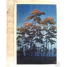 Kawase Hasui: Hikawa Park at Omiya - Japanese Art Open Database