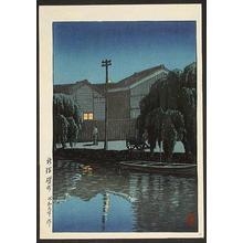 川瀬巴水: Ishizue in Niigata - Japanese Art Open Database
