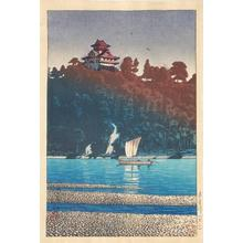 Kawase Hasui: Kiso River- at Inuyama - Japanese Art Open Database