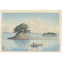 Kawase Hasui: Kujukushima, Shimabara - version 2 - Japanese Art Open Database