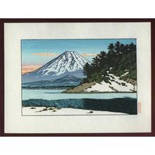 Kawase Hasui: Lake Shoji - Japanese Art Open Database