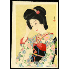 川瀬巴水: Late Spring — ゆく春 - Japanese Art Open Database