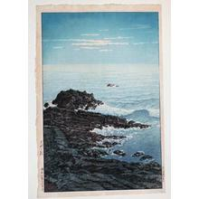 Kawase Hasui: Morning of Cape Inubo - Japanese Art Open Database