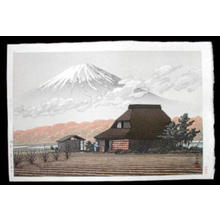Kawase Hasui: Mt. Fuji Seen from Narusawa — 鳴沢の富士 - Japanese Art Open Database