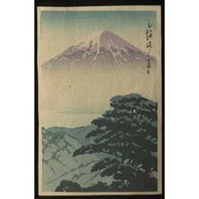 Kawase Hasui: Mt. Fuji - Japanese Art Open Database