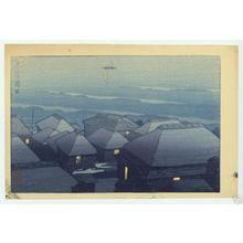 Kawase Hasui: Okada, Oshima - Japanese Art Open Database