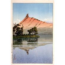 川瀬巴水: Onuma Park in Hokkaido - Japanese Art Open Database