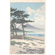 Kawase Hasui: Pines at Miho seashore - Miho no matsubara - Japanese Art Open Database