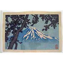 Kawase Hasui: Tagonoura- Lake Tago - Japanese Art Open Database