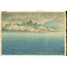 Kawase Hasui: Tomonotsu- Benten Island Bingo - Japanese Art Open Database