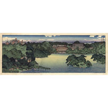 Kawase Hasui: View of Iwaskai Family Villa - Japanese Art Open Database