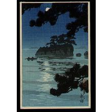川瀬巴水: Wedding Rocks - Japanese Art Open Database