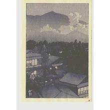 Kawase Hasui: Early evening scene - Japanese Art Open Database