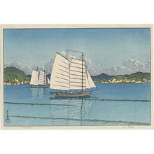 川瀬巴水: Inland Sea - Japanese Art Open Database