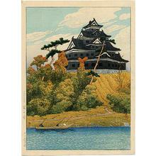 Kawase Hasui: Okayama Castle - Japanese Art Open Database