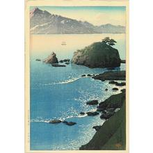 Kawase Hasui: Kude Beach in Wakasa - Japanese Art Open Database