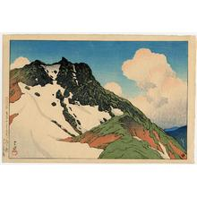 Kawase Hasui: Asahigadake from Mount Hakuba - Japanese Art Open Database