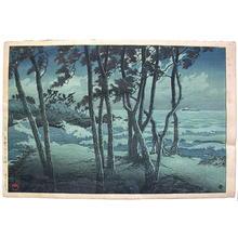 Kawase Hasui: Hinomisaki- Izumo - Japanese Art Open Database