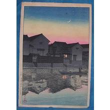 Kawase Hasui: Matsue, Izumo - Japanese Art Open Database
