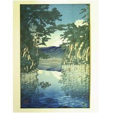 Kawase Hasui: Lake Towada — 十和田湖 - Japanese Art Open Database