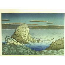 Kawase Hasui: Muroto Peninsula, Tosa — 土佐室戸岬 - Japanese Art Open Database