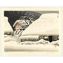 Kawashima Tatsuo: Gogo no Yuki (Afternoon Snow) - Japanese Art Open Database