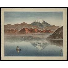 Kazue Yamagishi: Ashinoko — 芦ノ湖 - Japanese Art Open Database