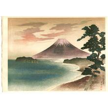 Kazue Yamagishi: Enoshima Beach - Japanese Art Open Database