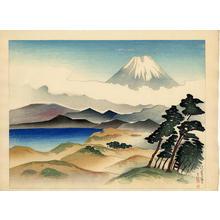 Kazue Yamagishi: Tsujido no Fuji — 辻堂の富士 - Japanese Art Open Database