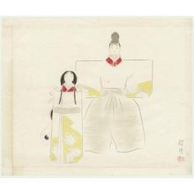 Keigetsu Kikuchi: Hina Matsuri - Japanese Art Open Database