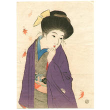 Takeuchi Keishu: Balmy Autumn Day - Japanese Art Open Database