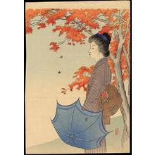 武内桂舟: Brocade of Autumn - Japanese Art Open Database