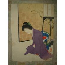 武内桂舟: First Sound of New Year — 初音 - Japanese Art Open Database