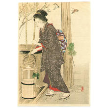 Takeuchi Keishu: Fresh Water in the New Year - Japanese Art Open Database