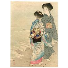 Takeuchi Keishu: Hamabe- Seashore - Japanese Art Open Database