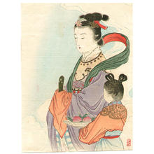 Takeuchi Keishu: Seiobo - Queen of the West - Japanese Art Open Database