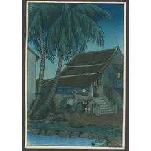 Keith Elizabeth: The Old House Malacca - Japanese Art Open Database