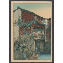 Keith Elizabeth: Wisteria Bridge - Japanese Art Open Database