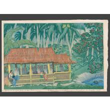 Keith Elizabeth: Moros at Prayer Jolo Sulu - Japanese Art Open Database