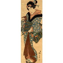 Kikugawa Eizan: Kakemono-e: Bijin - Japanese Art Open Database