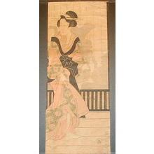 菊川英山: Unknown pillar print - Japanese Art Open Database