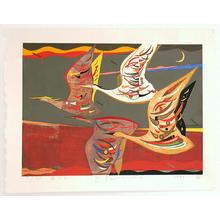 Kimura Yoshiharu: Flying Away - Japanese Art Open Database