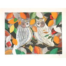 Kimura Yoshiharu: Forest in the Morning - Japanese Art Open Database