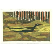 Kimura Yoshiharu: Karuizawa Swamp - Impression B - Japanese Art Open Database